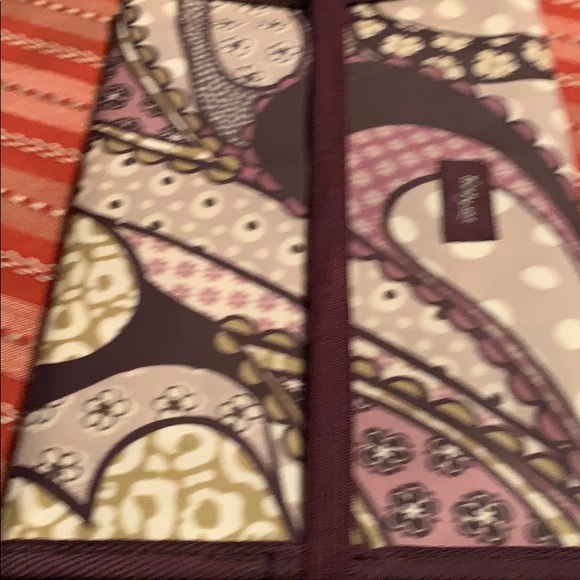 thirty-one Other - thirty-one cotton fold up padfolio-purple/olive